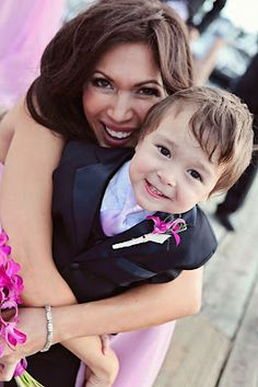 Look at this adorable ring bearer!  Amy Walton Photography