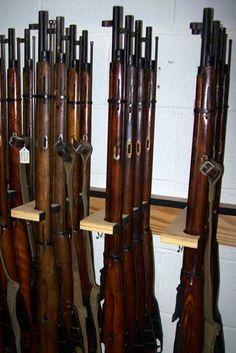 Built-in Gun Racks