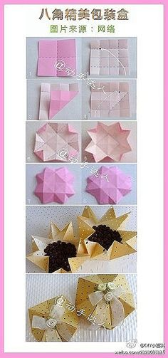 Use colored/pattern paper stock and decorate with bow.