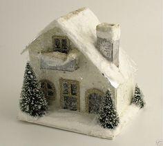 §§§ . Miniature Putz House