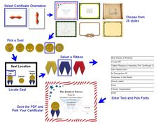 Create your own Scout Certificates  REPORT - super easy to do and the kids loved them.