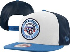 NFL Tennessee Titans Snapback Hats Caps New Era White 4957|only US$8.90