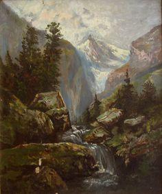 Rivers, Guns, Palette, Painting, Art, Farms, Painted Canvas, Landscapes, Weapons Guns