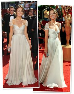 I am in L <3 V E with the Reem Acra gown... Olivia Wilde in Reem Acra - Primetime Emmy Awards 2008