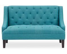 Blue Eden Settee by Sofa Mart