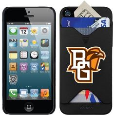 BOWLING GREEN IPHONE 5/5S CREDIT CARD PHONE CASE-HOLDS CASH & CARDS #1