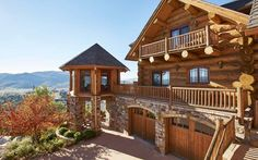 Location: 2610 Ski Trail Lane, Steamboat Springs, CO Square Footage: 6,133 Bedrooms & Bathrooms: 5 bedrooms & 5 bathrooms Price: $4,950,000 This log home, dubbed