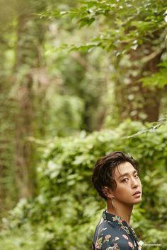 B.A.P Bang Yongguk Blue Naver cut 2017 #B.A.P #Yongguk #Blue
