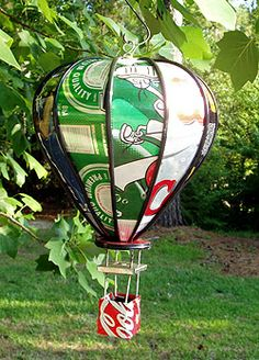 The Worsted Witch » Recycled Aluminum-Can Art