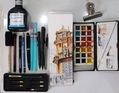 Sketch kit by Angelo Rodrígues, via Flickr
