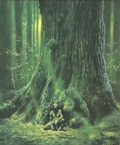 """Cover art of """"Greenmantle"""" by Charles de Lint"""