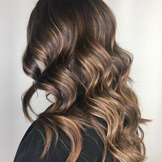 Babylights Morena, Coffee Hair Color, Most Common Hair Color, Dark Brunette Hair, Golden Blonde, Brunette Color, Beautiful Brown Hair, Aveda Hair Color, Chestnut Brown Hair