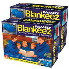 Prank Pack Blankeez Set Of 2, $16, now featured on Fab.