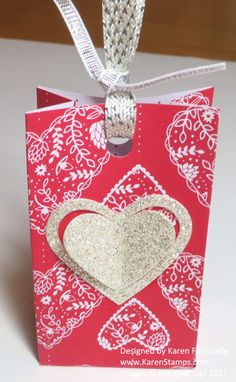 "Make a Valentine Sending Love Small Treat Bag or change it up for any occasion. Start with a 4"" x 6"" piece of paper. Or customize size to make your own style. https://www.stampinup.com/ecweb/ProductDetails.aspx?productID=142733&dbwsdemoid=54345"