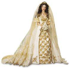 Faberge bride doll Franklin Mint