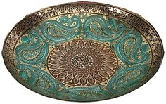 IMAX 83185 Paisley Glass Bowl * See this great product.