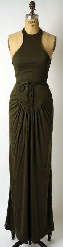 Dress Geoffrey Beene (American) ca. spring/ summer 1986 rayon, cotton