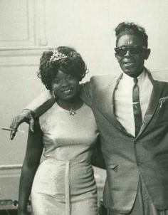 Koko Taylor & Lightnin' Hopkins.