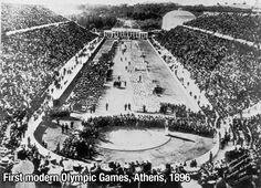 First modern Olympic Games 1896