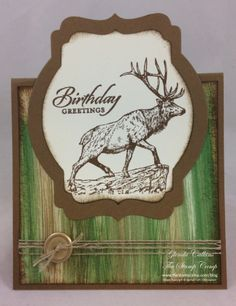 Stampin' Up! The Wilderness Awaits | The Stamp Camp