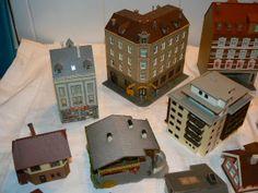 N Scale Buildings, Fairies, Scenery, Paper, Faeries, Landscape, Paisajes, Lugares, Fairy