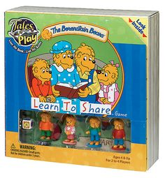 The Berenstain Bears Learn to Share Game Ages 4+