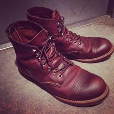 My boots,Red Wing