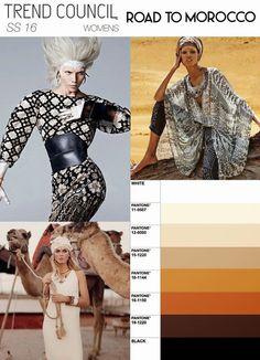 DORLY исполнениях: Мода Цвет Trend Прогноз Pre-Season S / S 2016