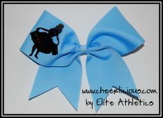 The Wonder Land Cheer Bow $12.00 www.cheerlicious.com Disney Cheer Bows, Cheerleading Cheers, Wonder Land, Dance, Future, Dancing, Future Tense