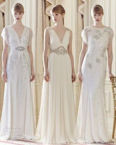 Here are our top 3 picks from Jenny Packham 2014 Wedding Dress Collection.