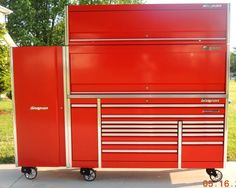 Snap On Tools Epic Triple Bank Tool Box Grill Bbq Barbacue