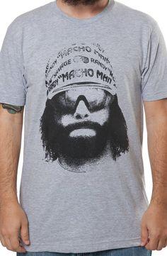 Macho Man Picture Shirt