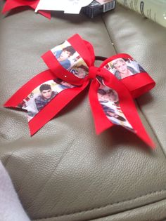 One direction cheer bow