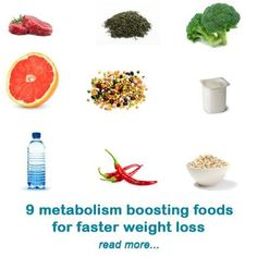 As amazing as it may seem, it is possible to boost your metabolism with metabolism foods. Since metabolism is basically how fast and efficiently your body burns the calories you eat every day, the idea is to eat only what your body needs for optimal cell function on a daily basis. That means choosing foods low in caloric value, but high in nutritional value. In addition, some of the foods found in nature can speed up your metabolism and help with fat burning #diet #weightloss #health…