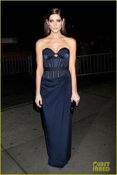I **LOVE** this dress!  //  Ashley Greene in Donna Karan Atelier 'Breaking Dawn Part 2' NYC Screening