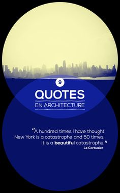 Quotes en Architecture by Pierre Odendaal, via Behance