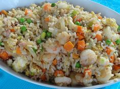 The best homemade fried rice that's ready in 15 minutes! Perfect weeknight dinner!