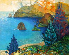 the view from here by artmeister on Etsy