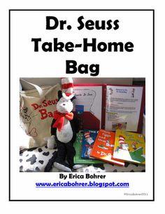 Dr. Seuss Resources & Dr. Seuss Take-Home Bag