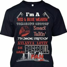 I want this shirt! Braves Girl!  ⚾