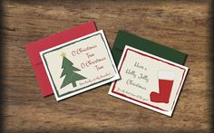 Christmas Cards Instant download print  O by PrintsofLife on Etsy