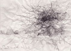 Don't Smoke in Bed /Patti Smith/ : automatic drawings of music by sin