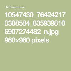 10547430_764242170308584_8359398106907274482_n.jpg 960×960 pixels