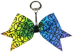 Cheer bow keychain tutorial http://hipgirlclips.com/forums/xw-instruction-images/cheer-bow-key-chain-tutorial/Cheer-Bow-key-Chain-1.JPG