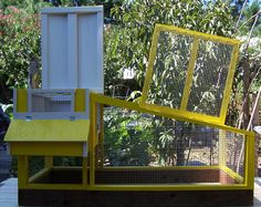 Gallery 2 Pictures Of Chicken Coops, Quail Coop, Pigeon House, Rabbit Hutches, Dog Houses, Gallery, Animals, Animales, Roof Rack