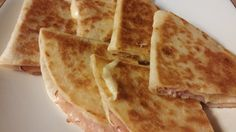 Ham and Chihuahua Cheese Quesadillas - Little Appetites
