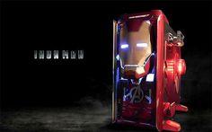 Iron Man Armor Revo Snow Édition.