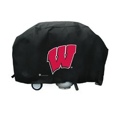 Wisconsin Badgers NCAA Deluxe Grill Cover
