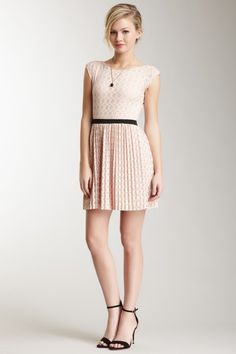 Cap Sleeve Eyelet Dress by Willow & Clay on @HauteLook