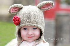 LOVE the lamb hat
